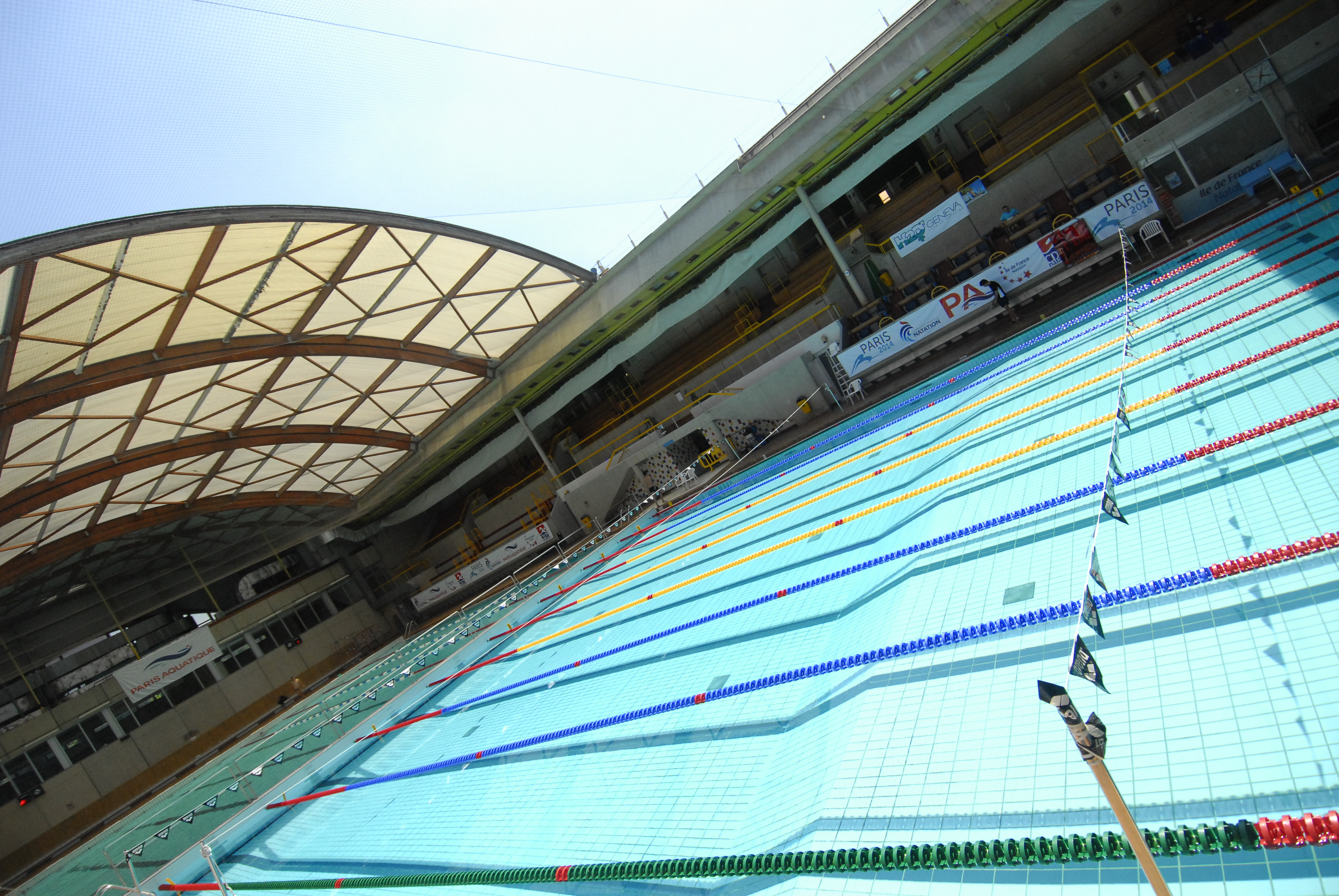 Natation course tip for Piscine 50m paris
